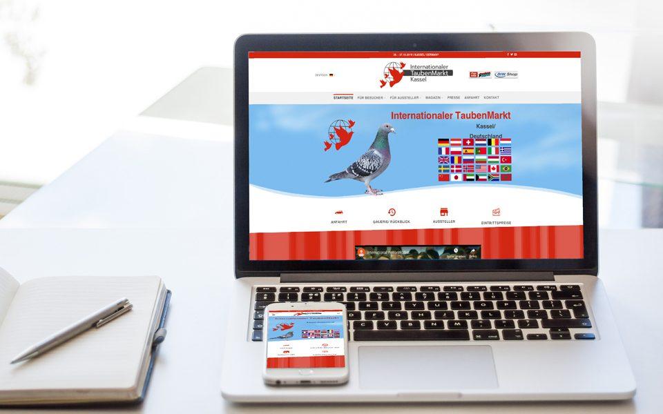 CM1K . Consulting . Marketing . Kommunikation Internationaler TaubenMarkt